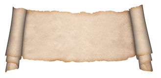 Medieval parchment. Stock Photography