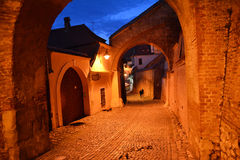 Medieval passage Stock Image