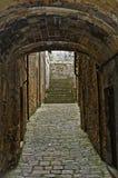 Volterra - Medieval passage  Stock Photos