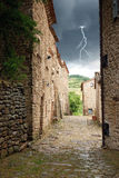 Medieval path Stock Images