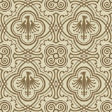 Medieval pattern Royalty Free Stock Image