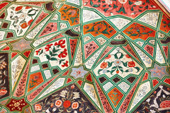Medieval pattern in a indian mosque Stock Photography