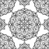 Medieval pattern of round elements. Royalty Free Stock Image