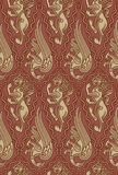 Medieval pattern Stock Photo