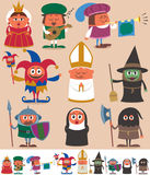 Medieval People 2 Royalty Free Stock Images