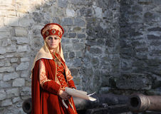 Medieval perfomance Royalty Free Stock Image