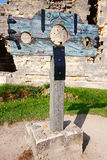 Medieval pillory Stock Images