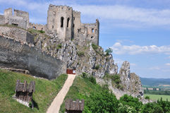 MEDIEVAL PLACE, SLOVAKIA Stock Images