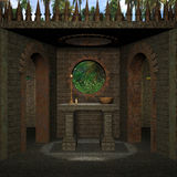 Medieval Place Royalty Free Stock Image