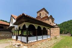 Medieval Poganovo Monastery of St. John the Theologian, Serbia. Amazing view of medieval Poganovo Monastery of St. John the Theologian, Serbia Stock Photo
