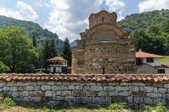 Medieval Poganovo Monastery of St. John the Theologian, Serbia. Amazing view of medieval Poganovo Monastery of St. John the Theologian, Serbia Royalty Free Stock Photos