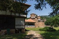 Medieval Poganovo Monastery of St. John the Theologian, Serbia. Amazing view of medieval Poganovo Monastery of St. John the Theologian, Serbia Stock Images