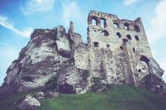 Medieval Polish Castle Stock Image