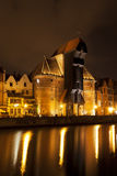 The medieval port crane in Gdansk, Poland Stock Photo