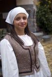 Medieval portrait Stock Photo