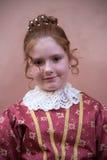 Medieval portrait Stock Images