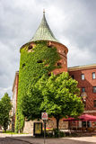 Medieval powder tower in Riga, Latvia Royalty Free Stock Photo