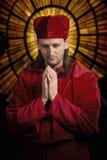 Medieval priest royalty free stock photo