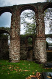 Medieval priory ruins Royalty Free Stock Photography
