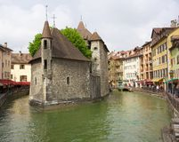 Medieval Prison Fort in Annecy, France Royalty Free Stock Photography