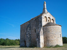 Medieval Provencal church 3 royalty free stock photos
