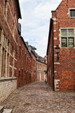 Medieval quarter of the city of Leuven Royalty Free Stock Images