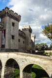 Medieval queen fortress in Tarascon, France. Royalty Free Stock Photos