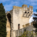 Medieval queen fortress in Tarascon, France. Royalty Free Stock Image