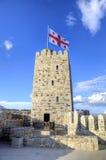Medieval Rabati Castle in Akhaltsikhe, Georgia. Royalty Free Stock Photography