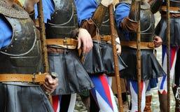 Medieval reenactment Royalty Free Stock Photo