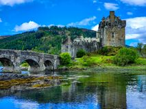 Medieval reflections royalty free stock photography