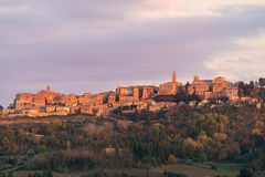 Medieval and Renaissance town Montepulciano, Tuscany Royalty Free Stock Photos