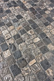 Medieval road pavement Royalty Free Stock Photo