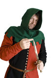 Medieval robber Royalty Free Stock Photo