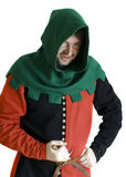 Medieval robber Royalty Free Stock Photography