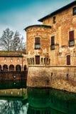 Medieval Rocca Sanvitale castle Stock Photography