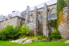 Medieval roman castle ruin, Portchester Castle, Stock Image