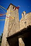 Medieval romanesque church, Italy Stock Photography