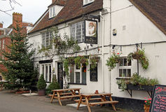 Medieval rose inn public house Royalty Free Stock Photo