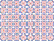 Medieval rose textile pattern Stock Photos