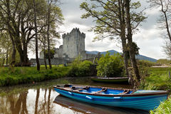 Medieval Ross castle Stock Images