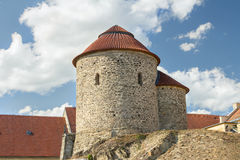 Medieval rotunda stock photography