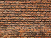 Medieval rough brick wall Stock Image