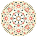 Medieval round rosette Royalty Free Stock Photo