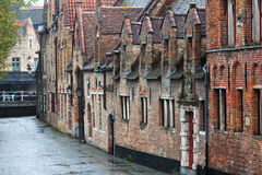 Medieval houses in Bruges, Belgium Royalty Free Stock Image