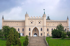 Medieval royal castle in Lublin. Poland royalty free stock photography