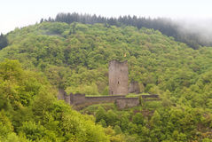 Medieval Ruin of a Castle Royalty Free Stock Images