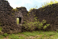 Medieval Ruin of a Castle Royalty Free Stock Photography