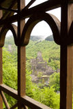 Medieval Ruin of a Castle. In the Eifel, Germany Royalty Free Stock Images
