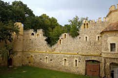 Medieval ruin of a castle Stock Photo